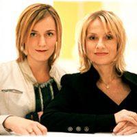 Lena Reichmuth und Isabelle Huppert